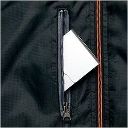 AZ50111 アイトス 裏フリースジャケット スポーティ軽防寒 胸ポケット