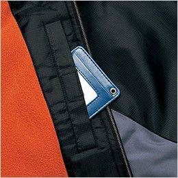 AZ50111 アイトス 裏フリースジャケット スポーティ軽防寒 内ポケット