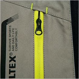 AZ50118 アイトス タルテックス 裏メッシュジャケット(男女兼用) 作業中に中身が飛び出さないファスナーポケット付き