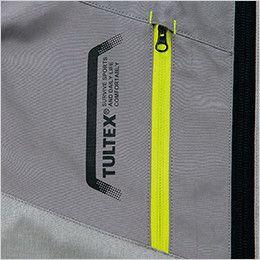 アイトス AZ50197 [春夏用]タルテックス 空調服 ベスト(男女兼用) ポリ100% 作業中に中身が飛び出さないファスナーポケット付き