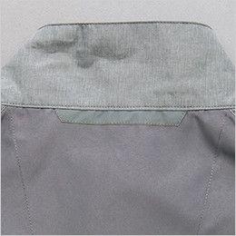 アイトス AZ50197 [春夏用]タルテックス 空調服 ベスト(男女兼用) ポリ100% 夜間の視認性をアップする反射テープ付き