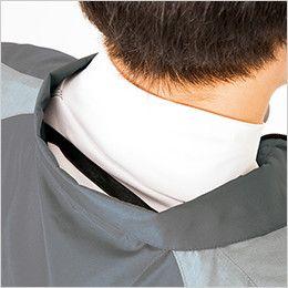 アイトス AZ50198 [春夏用]タルテックス 空調服 半袖ジャケット(男女兼用) ポリ100% 調整紐をとめることで、首元と脇の間に生まれる空気の通り道ができ、涼しく快適な環境を作ります