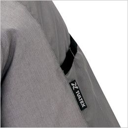 アイトス AZ50198 [春夏用]タルテックス 空調服 半袖ジャケット(男女兼用) ポリ100% 袖の取り出しやすい位置に施したペン差し付き