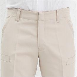 AZ50502 アイトス スタイリッシュカーゴパンツ(男女兼用) かがんでも背中がのぞきにくい