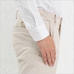 AZ50502 アイトス スタイリッシュカーゴパンツ(男女兼用) 前下がり斜めポケット