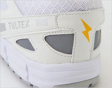 AZ51659 アイトス タルテックス セーフティシューズ(男女兼用) マジックタイプ 樹脂先芯 制電マーク付き