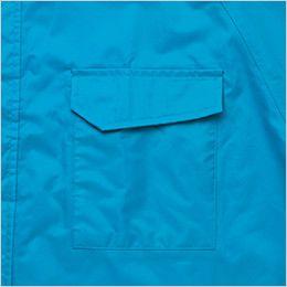 AZ562407 アイトス レインスーツ(上下セット) 雨ブタ付ポケット