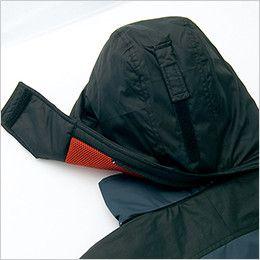 アイトス AZ6060 寒冷地対応 光電子 防風防寒着コート 取り外し可能