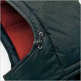 アイトス AZ6060 寒冷地対応 光電子 防風防寒着コート サイズ調整可能