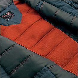 アイトス AZ6060 寒冷地対応 光電子 防風防寒着コート メッシュ