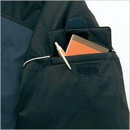 アイトス AZ6060 寒冷地対応 光電子 防風防寒着コート ポケット