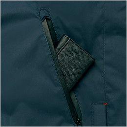 アイトス AZ6060 寒冷地対応 光電子 防風防寒着コート 防水コンシールファスナーポケット