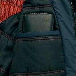アイトス AZ6060 寒冷地対応 光電子 防風防寒着コート ポケット付