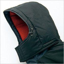 アイトス AZ6061 寒冷地対応 光電子 防風防寒着ブルゾン ドローコード付き