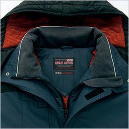 アイトス AZ6061 寒冷地対応 光電子 防風防寒着ブルゾン 衿フリース