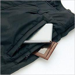 アイトス AZ6062 寒冷地対応 光電子 防風防寒着ズボン 二重ファスナー付