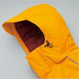 アイトス AZ6063 極寒対応 光電子 防風防寒着コート ドローコード付き