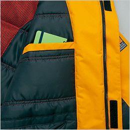 アイトス AZ6063 極寒対応 光電子 防風防寒着コート ポケット