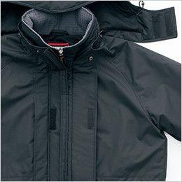 AZ6160 アイトス 光電子 軽量 防水防寒コート 取り外し可能