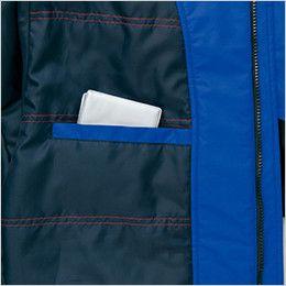 アイトス AZ6169 光電子防風防寒ジャケット(フードイン)(男女兼用) 内ポケット