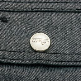 AZ64101 アイトス Wrangler(ラングラー) ジップアップジャケット(男女兼用) 刻印ドットボタン