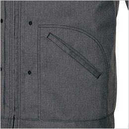 AZ64101 アイトス Wrangler(ラングラー) ジップアップジャケット(男女兼用) 両脇 ポケット
