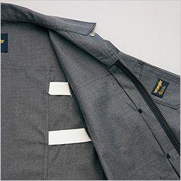 AZ64101 アイトス Wrangler(ラングラー) ジップアップジャケット(男女兼用) プリーツゴム仕様