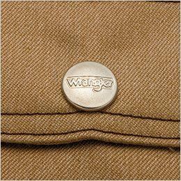 AZ64102 アイトス Wrangler(ラングラー) ボタンジャケット(男女兼用) 刻印ドットボタン