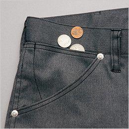 AZ64121 アイトス Wrangler(ラングラー) ノータックカーゴパンツ(男女兼用) 小物収納用のサブポケット