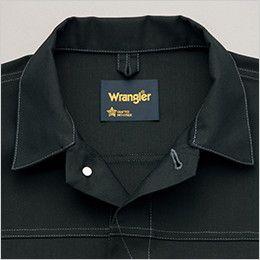 AZ64202 アイトス Wrangler(ラングラー) ボタンジャケット(男女兼用) 前タックボタン仕様