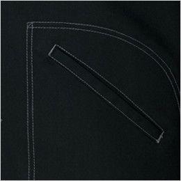 AZ64202 アイトス Wrangler(ラングラー) ボタンジャケット(男女兼用) 両脇 ポケット付