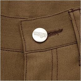 AZ64221 アイトス Wrangler(ラングラー) ノータックカーゴパンツ(男女兼用) 刻印ドットボタン