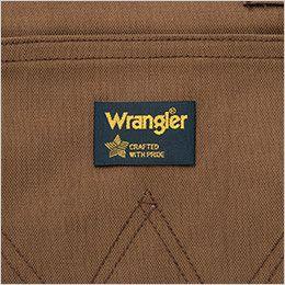 AZ64281 アイトス Wrangler(ラングラー) ミディエプロン(男女兼用) ブランド織りネーム