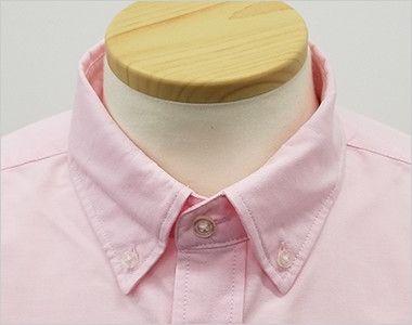 AZ7870 アイトス オックスボタンダウンシャツ/長袖(男性用) きっちりした印象のボタンダウン