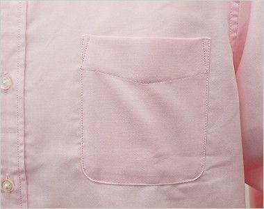 AZ7870 アイトス オックスボタンダウンシャツ/長袖(男性用) ポケット付き
