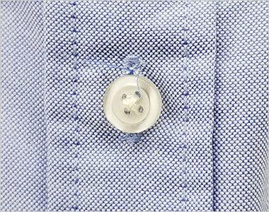 AZ7872 アイトス オックスボタンダウンシャツ/半袖(男性用) ボタン部分