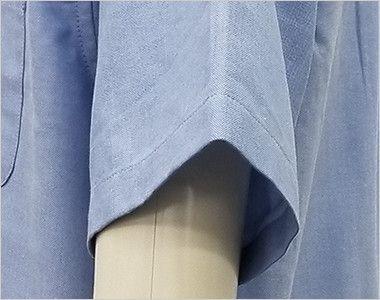 AZ7872 アイトス オックスボタンダウンシャツ/半袖(男性用)