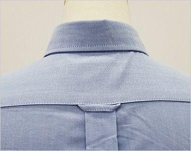 AZ7873 アイトス オックスボタンダウンシャツ/半袖(女性用) 背タック・ハンガーループ