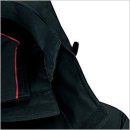 アイトス AZ8460 [秋冬用]エコノミー防寒コート[フード付き・取り外し可能] フードドローコード