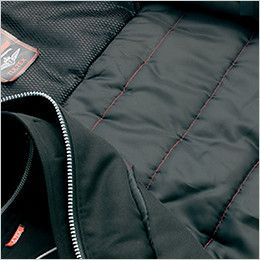 アイトス AZ8460 [秋冬用]エコノミー防寒コート[フード付き・取り外し可能] 裏カラーステッチキルト