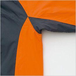 アイトス AZ8471 [秋冬用]業務用 防風防寒ショートコート[フード付・取外し可能] カッティング
