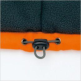 アイトス AZ8471 [秋冬用]業務用 防風防寒ショートコート[フード付・取外し可能] ドローコード