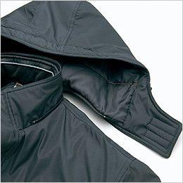 AZ8560 アイトス 防風防寒コート[フード付き・取り外し可能] 着脱式フード