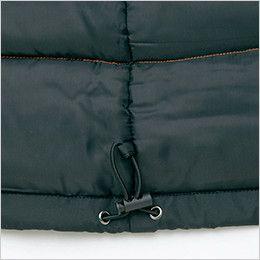 アイトス AZ8560 防風防寒コート[フード付き・取り外し可能] ドローコード
