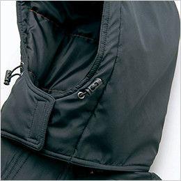 AZ8561 アイトス 防風防寒ブルゾン[フード付き・取り外し可能](男女兼用) フードドローコード
