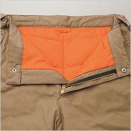 AZ8572 アイトス 防寒パンツ(男女兼用) 金属ファスナー