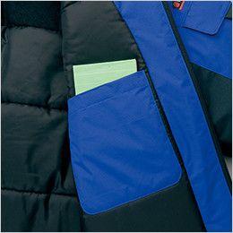 AZ8860 アイトス 防寒コート パッチポケット