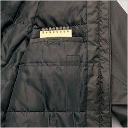 AZ8870 アイトス 防水防寒コート(男女兼用) ペン差し付ポケット付