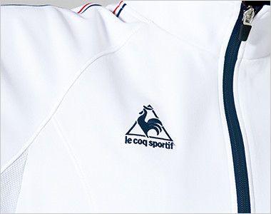 UZL1012 ルコック ジャージ ジャケット(女性用) 右胸にブランドロゴ