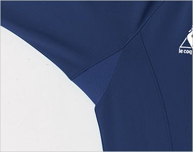 UZL1023 ルコック ジャージ ジャケット(男女兼用) 高通気メッシュを採用したマチ仕様
